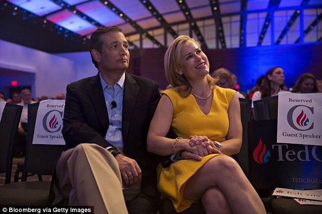 Heidi Cruz, Primaires républicanes, Heidi Cruz, Donald Trump