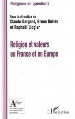 Religions et Valeurs en France et en Europe