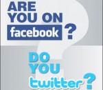 Facebook;, Twitter